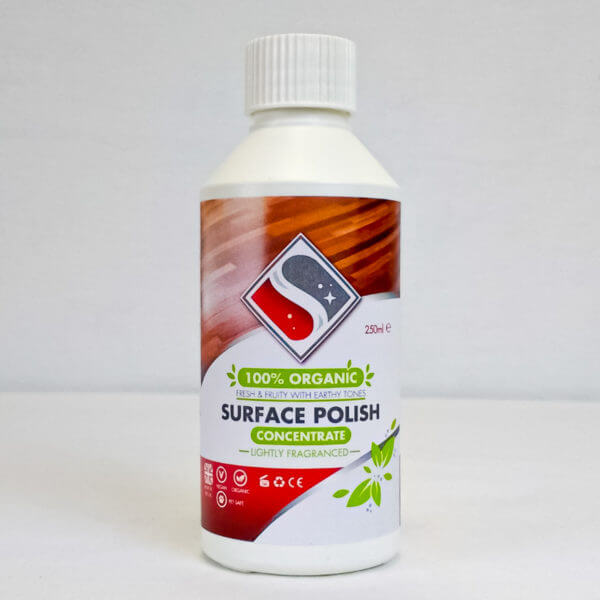 Surface polish concentrate refill bottle