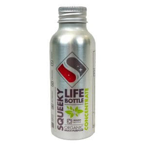 aluminium multi purpose cleaner concentrate bottle